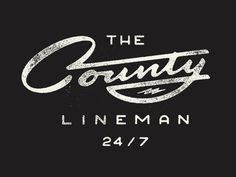 The County Lineman by Philip Eggleston