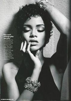 Rihanna, Glamour Magazine November 2013
