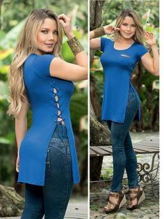 Cute Summer Outfits, Sexy Outfits, Spring Outfits, Fashion Outfits, Cute Blouses, Blouses For Women, Blouse Styles, Blouse Designs, Iranian Women Fashion