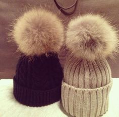 Puff Ball Beanies! Cute Hats 70cff8a6b99