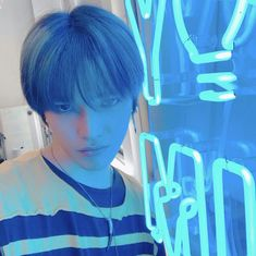 Nct 127 Members, Nct Dream Members, Lee Taeyong, Rapper, Light Of My Life, Fandoms, Photography Backdrops, Blue Aesthetic, Trendy Baby