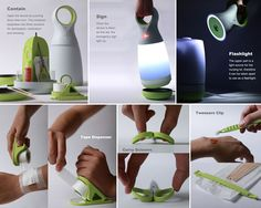 Nursing Kit - Family First Aid Kit by Sheng-Hung Lee and Yu-Lin Chen  Nursing Kit is the new generation of family first aid kit, it provides not only health care but also illumination as well as decoration.