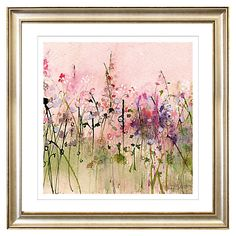 John Lewis Flowers Karen birchwood before the rain stretched canvas art prints and buy sue fenlon meadow flowers framed print 83 x from our prints range at john lewis sisterspd