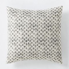 Organic Stamped Dot Duvet Cover + Shams - Euro Sham $23