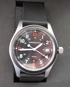 e6502bdaef41 Reloj HAMILTON KHAKI FIELD ed.limitada S.W.A.T ORIGINAL Impecable   MIRA  FOTOS Relojes Hamilton