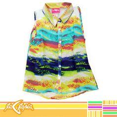 #Blusa suave para las pequeñas... ¡y también muy cómoda! ¡Te encantará #Niñas 3er.Piso