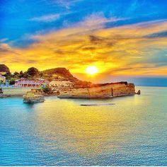 GREECE CHANNEL | Sunset in Corfu