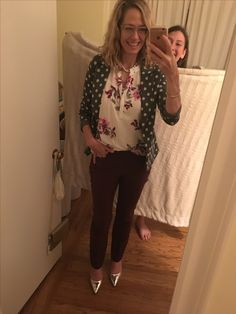 Thank you Stacey, I love my birthday outfit! All perfect! With my daughter behind me trying to improve my selfie skills.