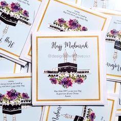 Excited to share this item from my shop: Hajj Mubarak - Greeting Card Hajj Mubarak, Pillars Of Islam, Eid Mubarak Greetings, Cute School Supplies, Butterfly Art, Pretty Cards, Beautiful Butterflies, Islamic Art, White Envelopes