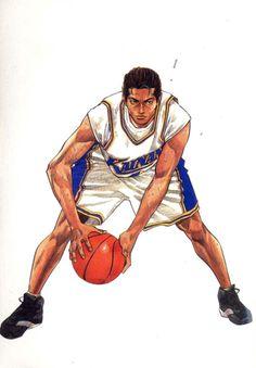Shinichi Maki Comic Manga, Anime Comics, Manga Illustration, Character Illustration, Manga Art, Anime Manga, Anime Naruto, Basketball Manga, Basketball Players