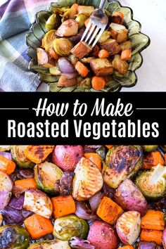 Best Roasted Vegetables, Oven Vegetables, Roasted Vegetable Recipes, Healthy Vegetables, Roasting Times For Vegetables, How To Roast Vegetables, Oven Roasted Vegetables, Roasted Vegetables Thanksgiving, Roasted Veggies Recipe