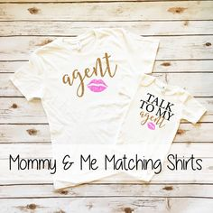 Shop our Mommy & Me #twinning Sparkle Shirts at www.shopcassidyscloset.com