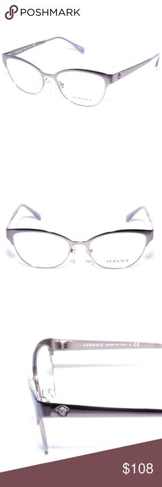 9815f5670e Versace Eyeglasses 1240 1023 53 17 Lilac Brand new 100% authentic Versace  Eyeglasses 1240