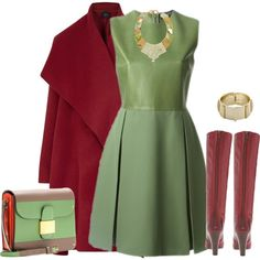A fashion look from November 2014 featuring Gucci dresses, Lanvin coats and Frye boots. Browse and shop related looks.