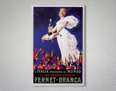 Check out this item in my Etsy shop https://www.etsy.com/listing/208036713/fernet-branca-vintage-food-drink-poster