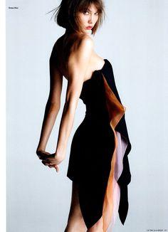 Dior dress, phototag