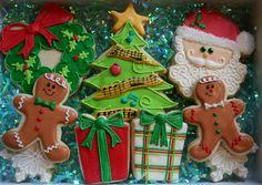 Gingerbread Christmas Set