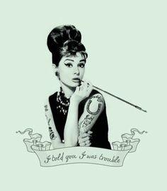 Camiseta Amy Hepburn