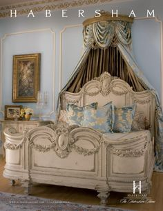french comforters | habersham ad florentina 267x346 Florentina Bed © 2009 Habersham Home