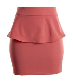 Peplum skirt available on www.floralraffia.com