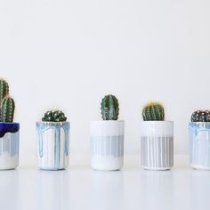 These beauties by @duckceramics will be available at #madebrighton16 at St Bartholomew's. 10 December - what a line up! . . #christmasshopping #brighton #shoppinginbrighton #contemporarycraft #contemporaryceramics #ceramics #pots #cacti #cactuspot #handmade #handcrafted #buyhandmade