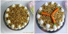 Tarta de Zanahoria con Crema de Queso (Carrot Cake)