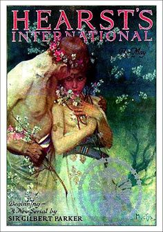 Hearst's International Spring Night May 1922 Alphonse Mucha