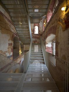 Restoration Of The Bakery Of Caserma Santa Marta Into University Facilities - Picture gallery Cultural Architecture, Detail Architecture, Architecture Renovation, Building Renovation, Architecture Old, Organic Architecture, Santa Marta, Conservation Architecture, Roofing Options