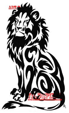 """Tribal """"Lion"""" Tattoo...    (One of the next ones...)"""