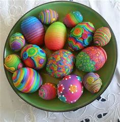 easter eggs - Bing Images