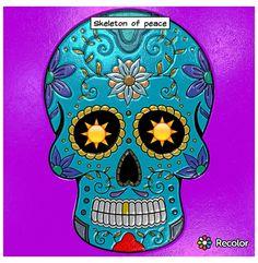 Skeleton of peace
