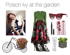 Poison Ivy at the garden by norse-goddess on Polyvore featuring polyvore fashion style Opening Ceremony Chicwish Dolce&Gabbana Thierry Lasry Marc Jacobs Fresh 3LAB clothing