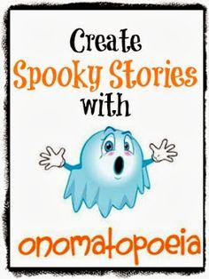 Create Spooky Stories with Onomatopoeia