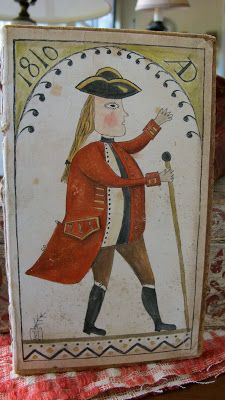 Anne Childs folk art - (Uncle Bob painted a watercolor of this PA farmer that I have in my home.)