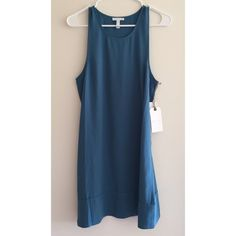 Racerback shift dress NWT Blue racerback shift dress. Perfect basic dress that can be dressed up or down. New with tags and in perfect condition! Leith Dresses Mini