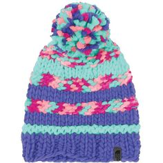 The North Face Women's Nanny Knit Beanie ($30) ❤ liked on Polyvore