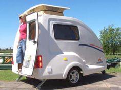 Micro Caravans, Going Cockpit, Tab, Freedom Caravans