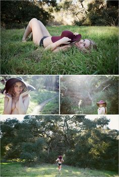 SO CUTE Hippie Boudoir Shoot ~ nice option for those who dont want to do the bedroom type set-up