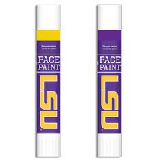 LSU Tigers Face Paint Two-Pack - $7.99