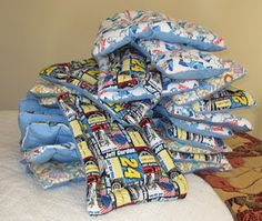 Sew your own dog bed.  Great community project!