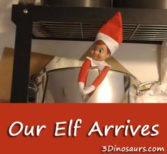 Our Elf Arrives: math activity to do with Elves - 3Dinosaurs.com