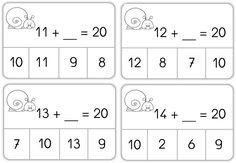 Jeux auto-correctifs de calculs CE1 - Caracolus
