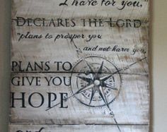 jeremiah 29:11 pallet art - Google Search