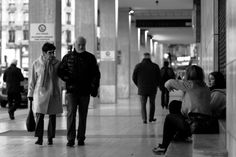 Black and White Street Photography of People - Silent disapproval #blackandwhite #street #streetphotography #candid #people