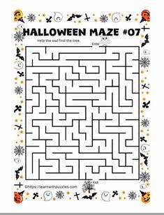 Halloween Mazes Set