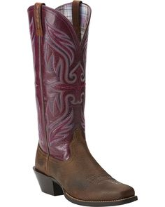 d8e2f9f24dd98 Ariat Women s Square Toe Round Up Buckaroo Boots