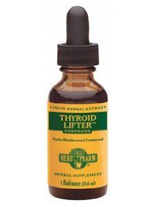 Thyroid Lifter Compound 1 fl oz (NET21) by Herb Pharm. $12.80. Thyroid Lifter Compound 1 fl oz  Herbal Supplement  ? Formerly Nettle/Bladderwrack Compound ? Liquid Herbal Extract  Ingredients: extracts of: Bladderwrack thallus (Fucus vesiculosus) Eleuthero root (Eleutherococcus sen.) Stinging Nettle seed & calyx (Urtica dioica) Black Peppercorns (Piper nigrum) Prickly Ash bark (Zanthoxylum c.h.) Other Ingredients: certified organic grain alcohol (47-55%), dist...
