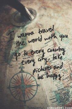 adventure quote.  Travel the world. Explore.