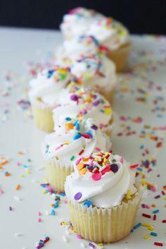 Simply Beautiful Vanilla Sprinkle Cupcakes – Simply Beautiful Eating