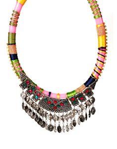 ASOS Habenera Coin Collar Necklace, $58